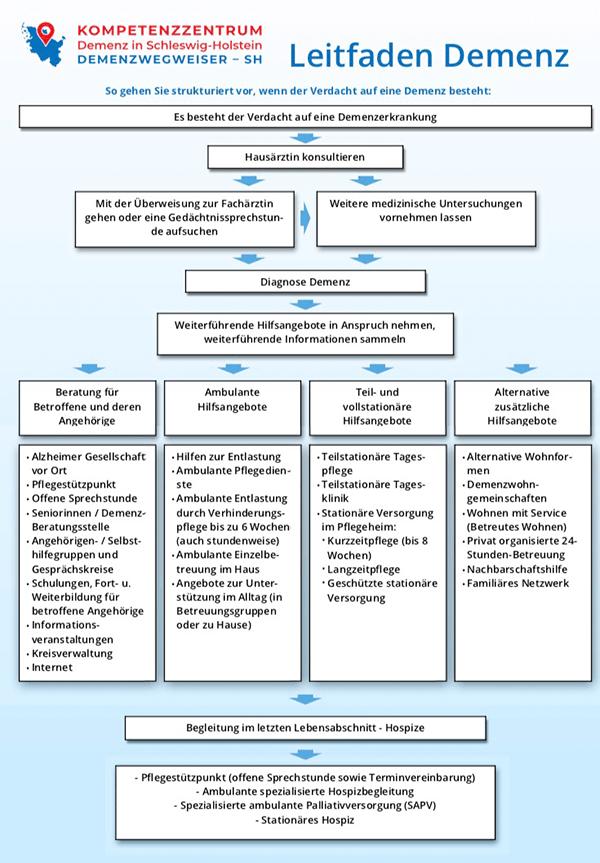 Coverbild des PDF Leitfaden Demenz